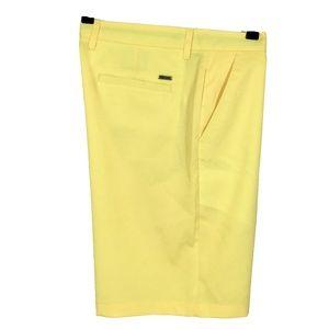 Greg Norman Tasso Elba Mens Golf Shorts 34 Slim Fi